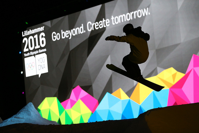 Youth Olympic Games - sustainable living - Create Tomorrow