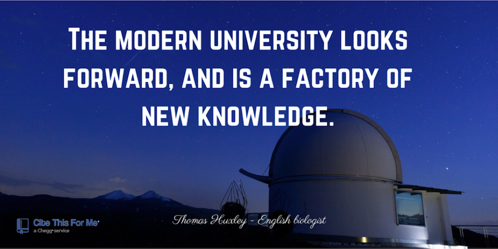 A modern University